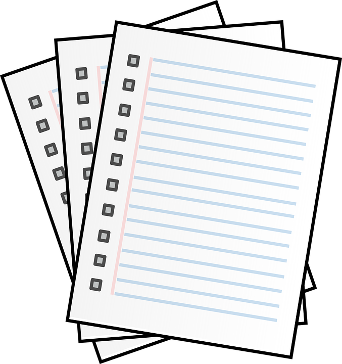 Lined Paper Free images on Pixabay – Lined Papers