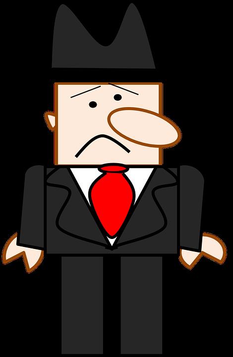Hitam Kartun Pria Wajah Gambar Vektor Gratis Di Pixabay