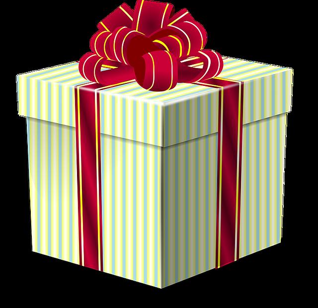 Коробочка с подарком png 86