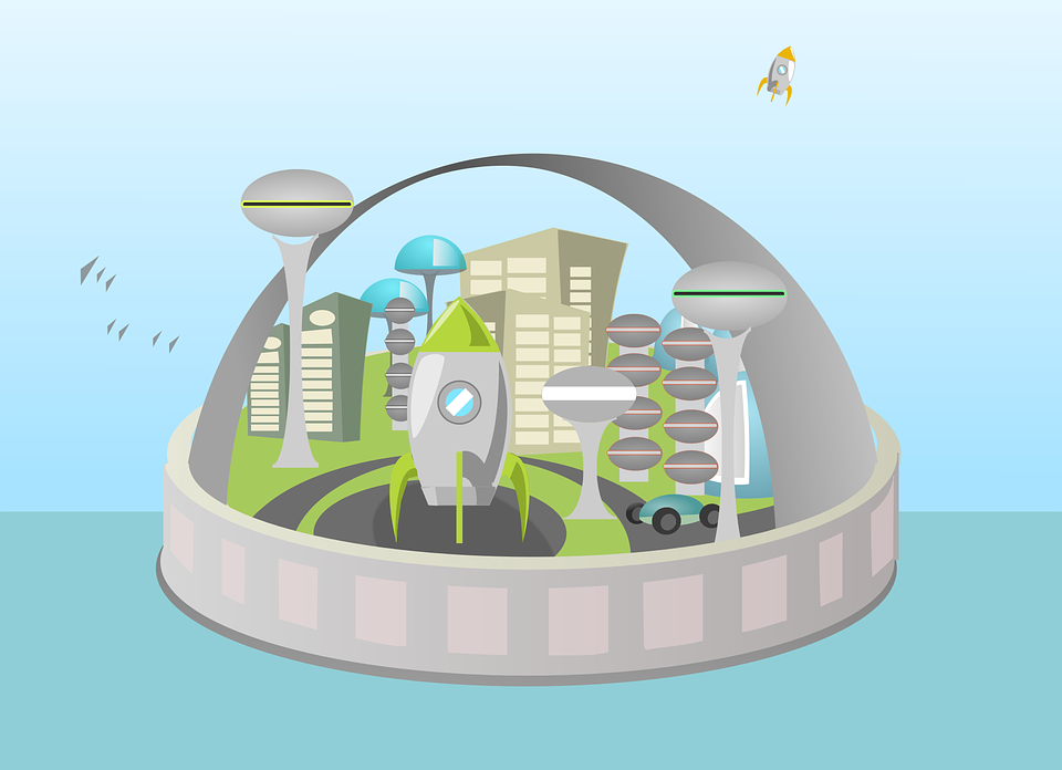 free vector graphic  alien  city  cityscape  future - free image on pixabay