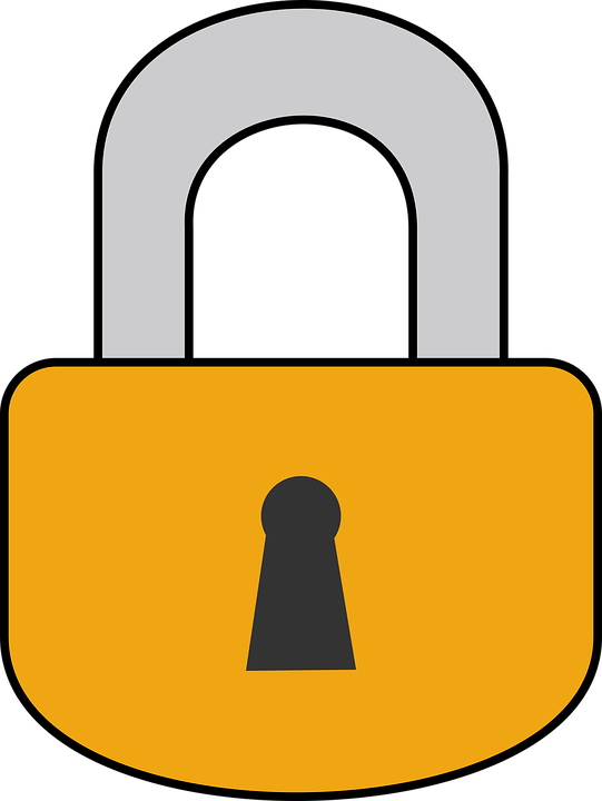 padlock lock locked free vector graphic on pixabay rh pixabay com  free clipart door lock
