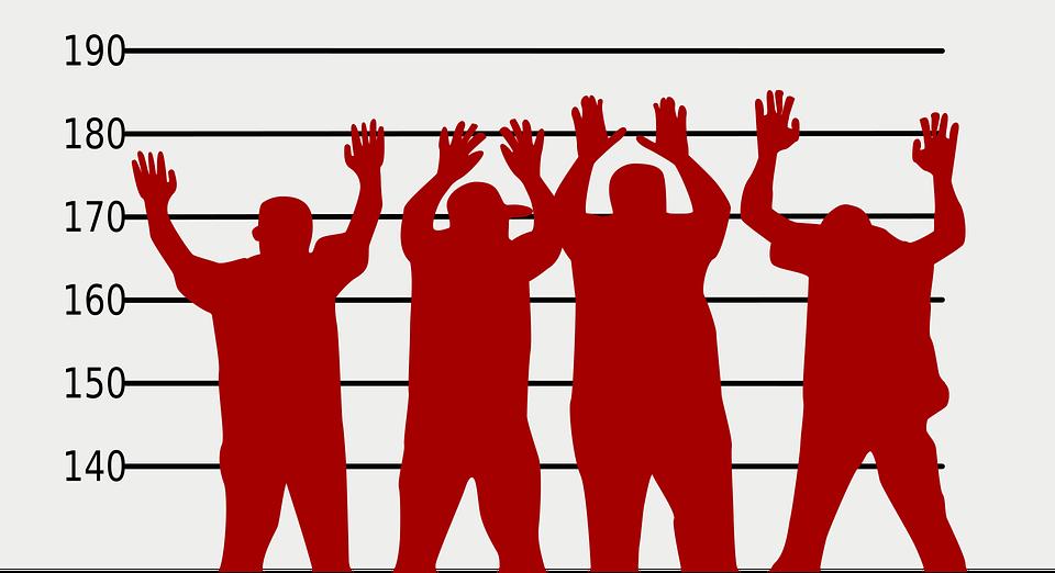 容疑者, 犯罪者, 人, キャッチ, 警察, 犯罪, 法