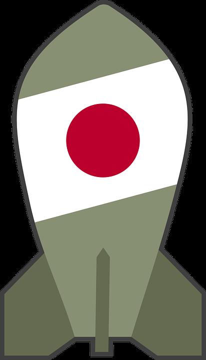 atom atomic bomb free vector graphic on pixabay rh pixabay com Atomic Bomb Cartoon Atomic Bomb Cartoon