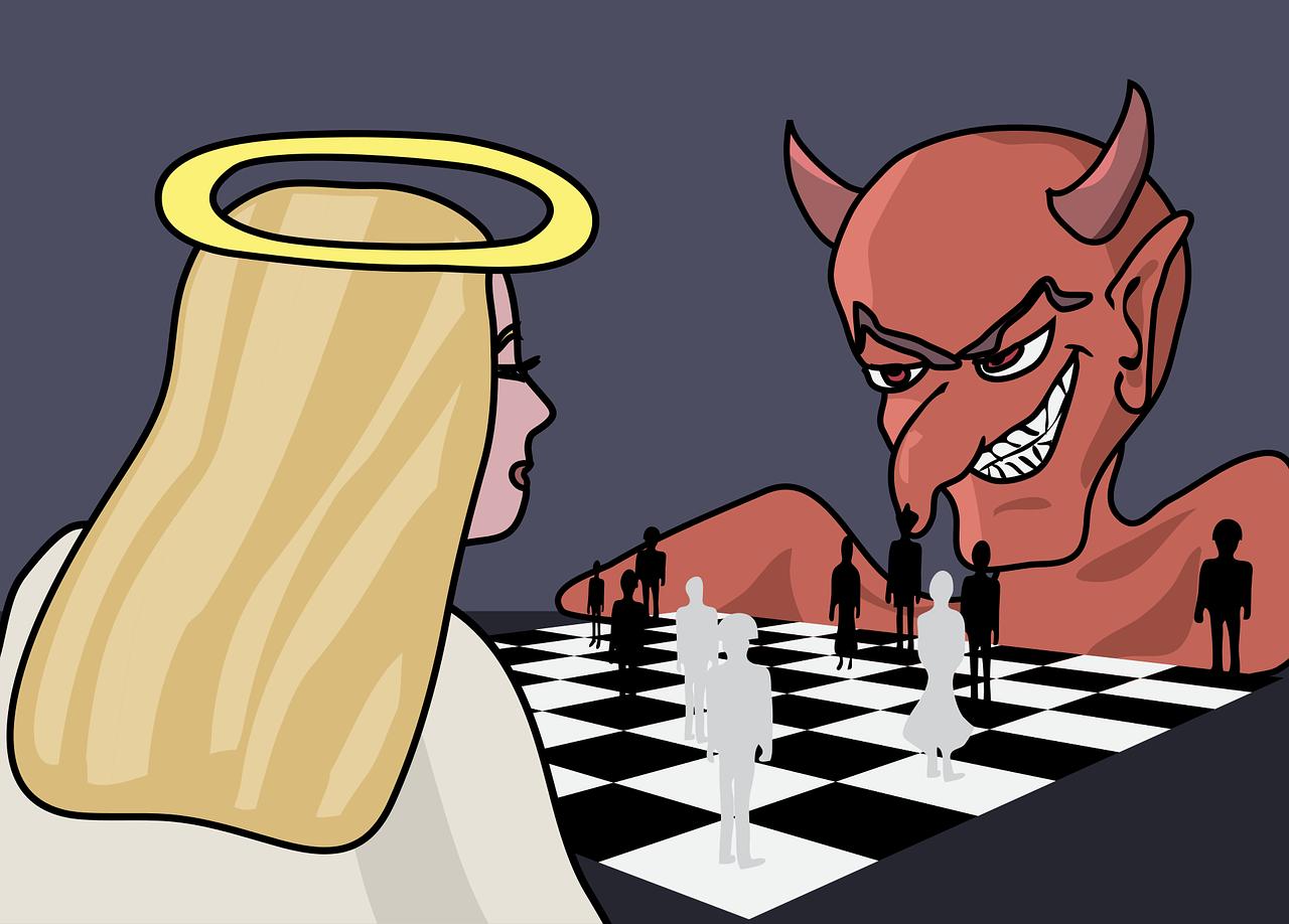 Открытки добро и зло