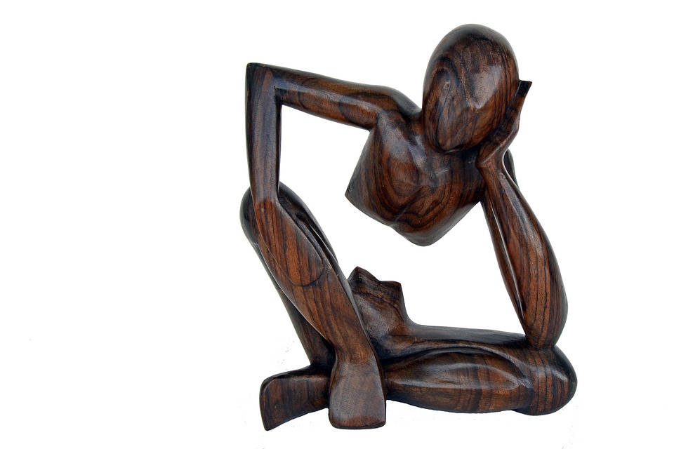 Thinker, At A Loss, Consider, Play, Question Mark