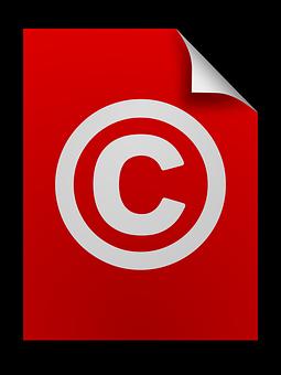 Copiar, Derechos De Autor, Iconos