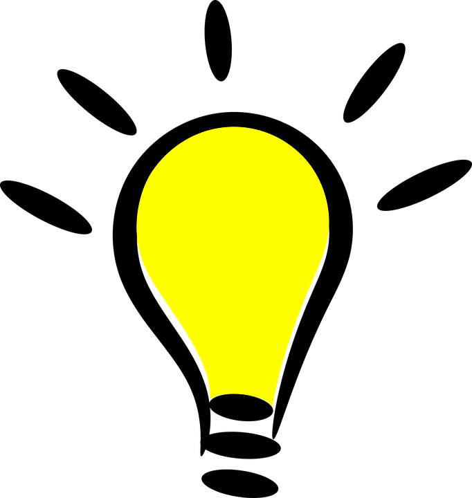 Cartoon Icon Light Bulb Free Vector Graphic On Pixabay