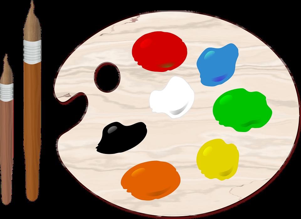 Kunst Pinsel Farben · Kostenlose Vektorgrafik auf Pixabay