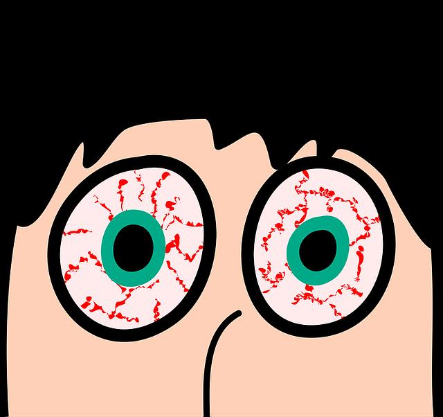 Bloodshot Eyes Clipart