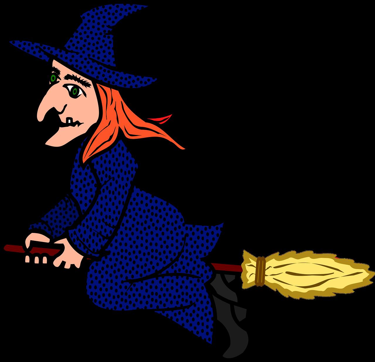 Сделать открытку, ведьмы картинки для детей