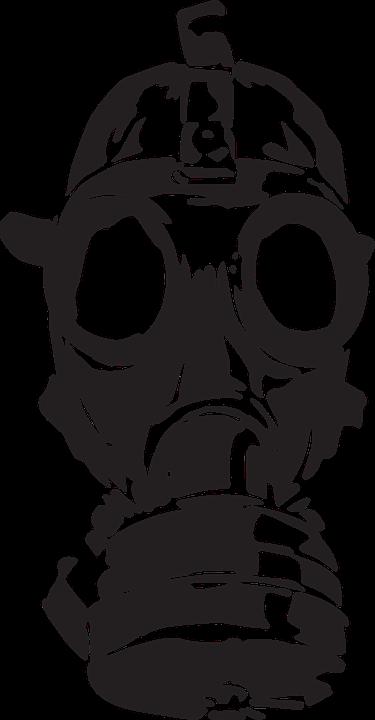 Masker Gas, Perang, Lama, Perlindungan, Gas, Topeng