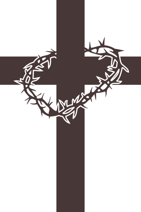 Christ Christianity Cross Crown Of Thorns Jesus