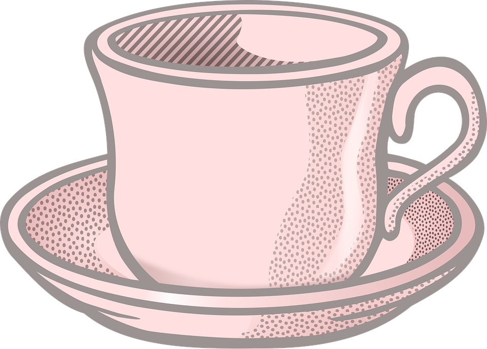 Tableware On Coffee Free Graphic Pixabay Cup Vector BeWrCxdo