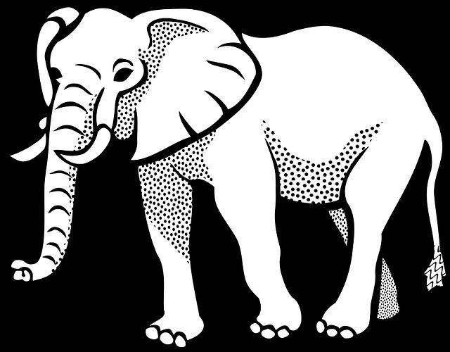 Elephant Animal Safari · Free Vector Graphic On Pixabay