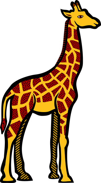 Giraffe Animals Safari · Free vector graphic on Pixabay