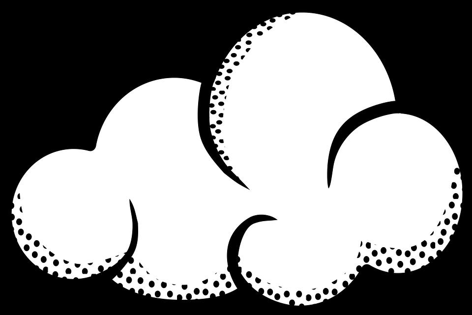 Bulutlar Hava Yagmurlu Pixabay Da Ucretsiz Vektor Grafik