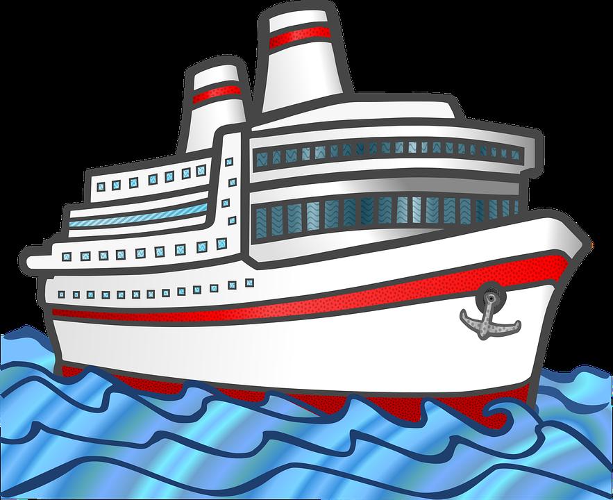 Sea Ship Traffic · Free Vector Graphic On Pixabay
