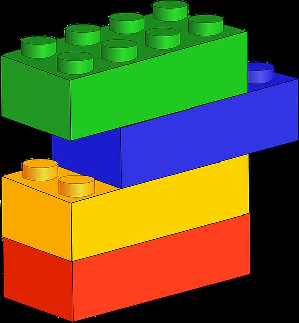 Free vector graphic: Blocks, Blue, Bricks - Free Image on ...