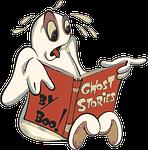 boo, cartoon, ghost