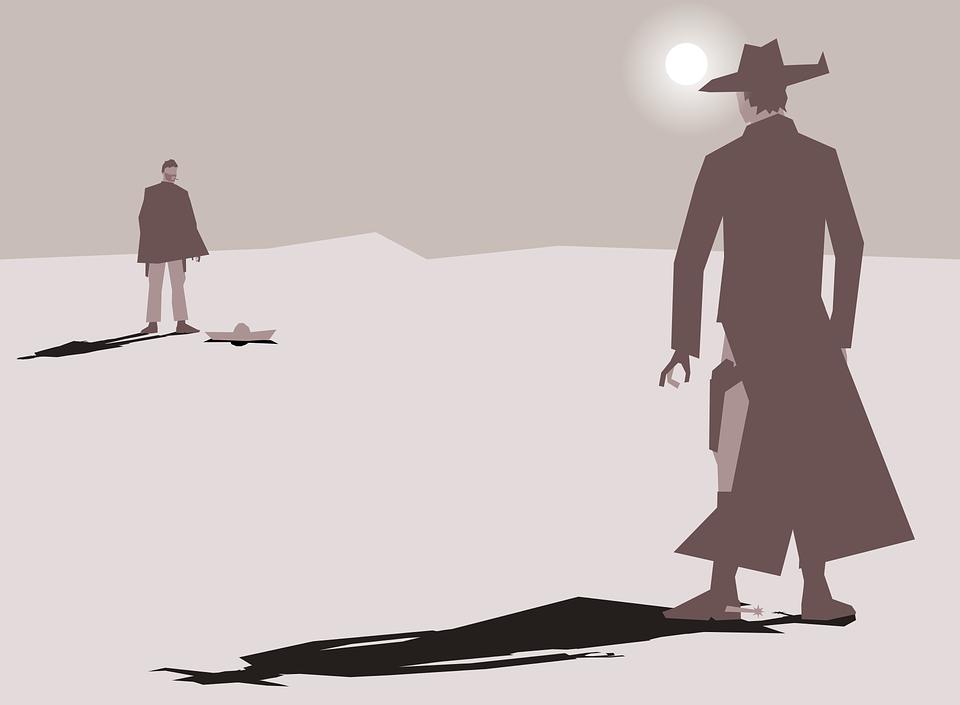 Arte cartone animato cowboy grafica vettoriale gratuita su pixabay