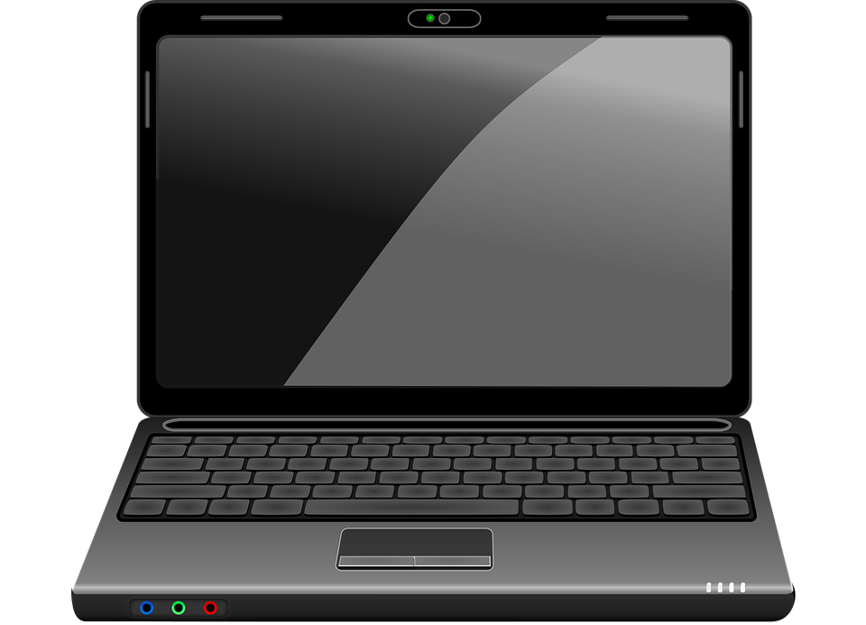 laptop computer technology free vector graphic on pixabay