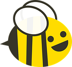 bee, black, buzz