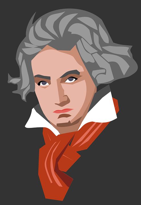 무료 벡터 그래픽 베토벤 클래식 작곡가 유럽 유명한 음악 음악가 Pixabay의 무료