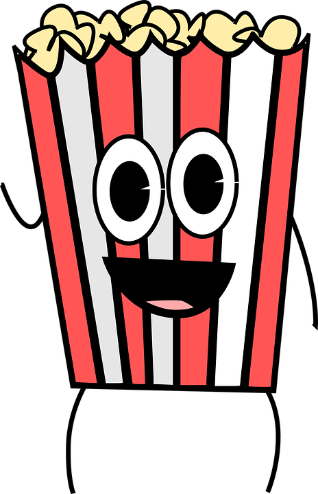 Cartoon Food Movies - Free vector graphic on Pixabay