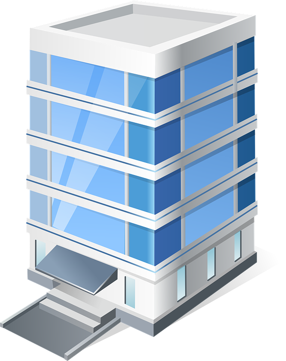 free vector graphic building  office  vista free image office building clip art free office building clipart