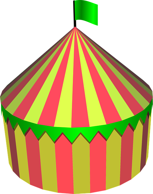 Free Vector Graphic Circus Tent Circus Tent Round