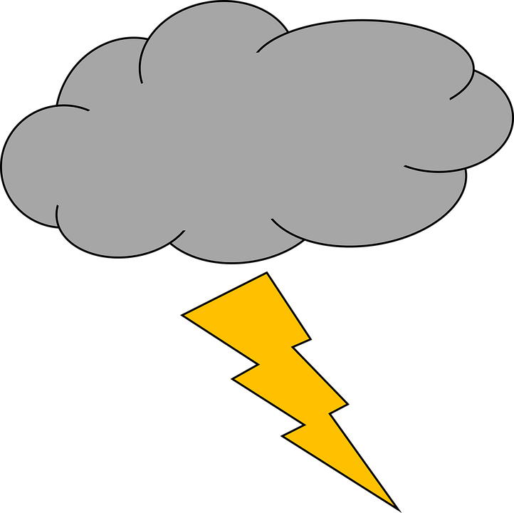 Daily Sketch Lightning Free Vector Graphic On Pixabay
