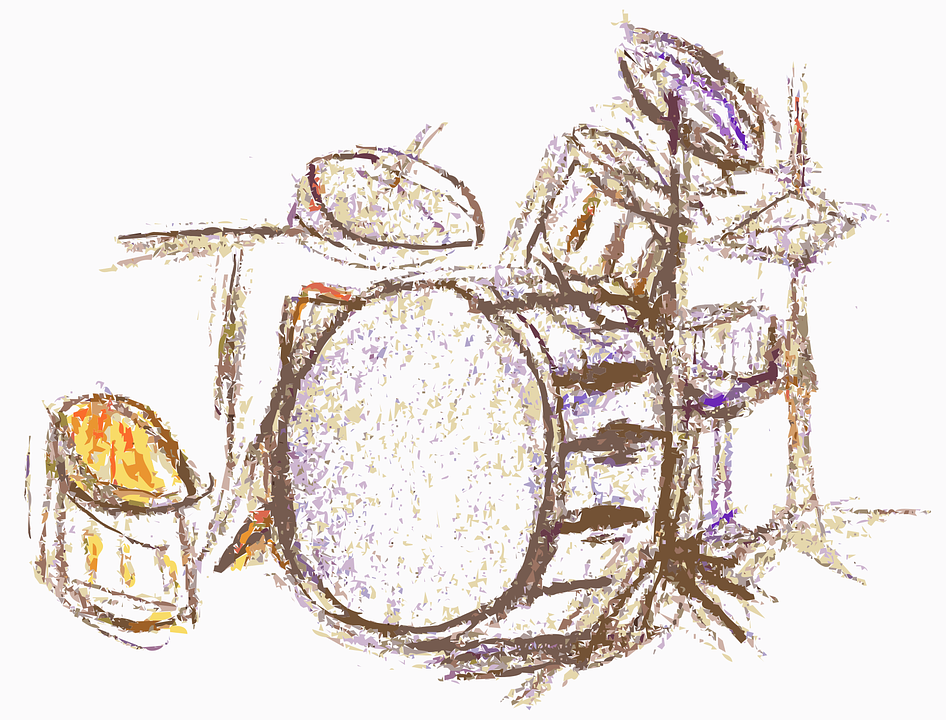 Drum Drums Jazz Kit Music New Collection