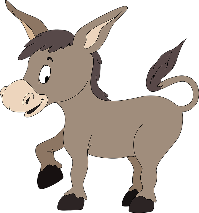 Burro Donkey · Free Vector Graphic On Pixabay