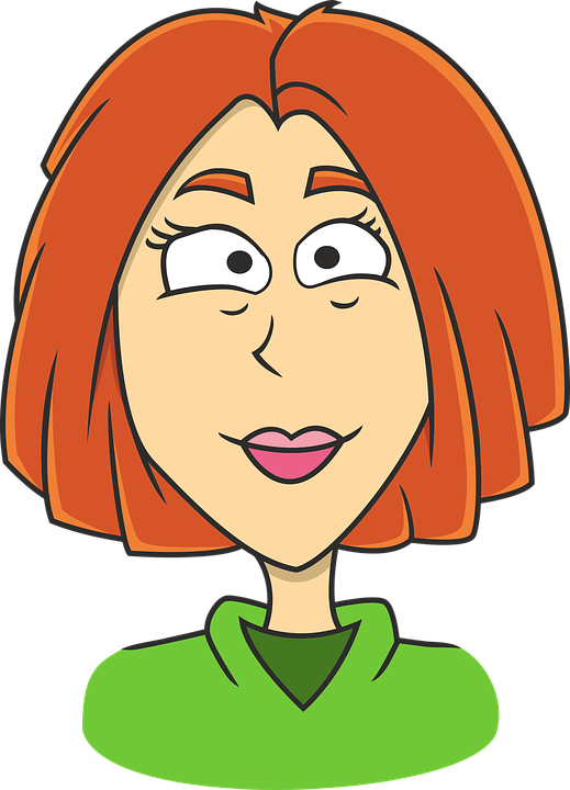 face female comic character free vector graphic on pixabay rh pixabay com cartoon woman fixing her hair cartoon woman base mesh