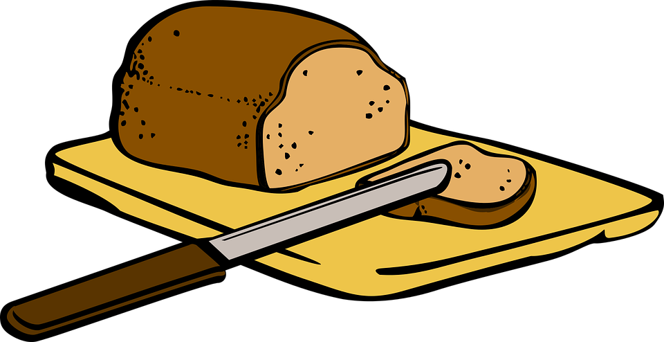 Bread Breakfast Eat 183 Free Vector Graphic On Pixabay