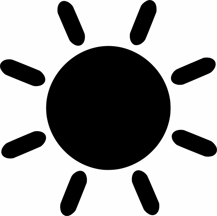 Free Vector Graphic Sun Weather Summer Heat Free