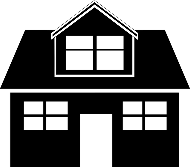Black Home House · Free vector graphic on Pixabay