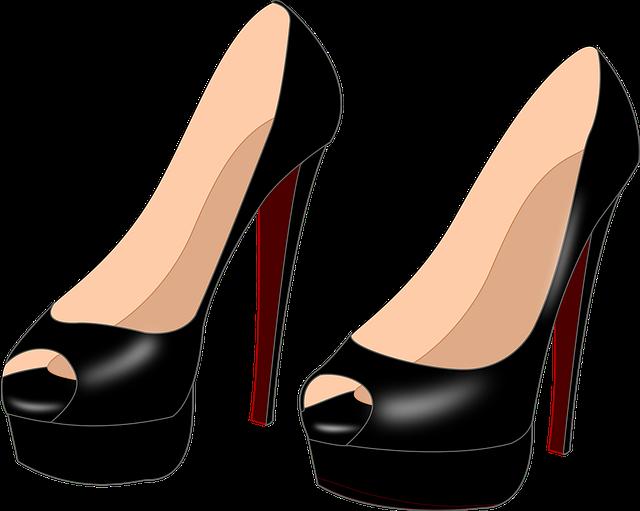 kostenlose vektorgrafik high heels schuhe frauen kostenloses bild auf pixabay 1296179. Black Bedroom Furniture Sets. Home Design Ideas