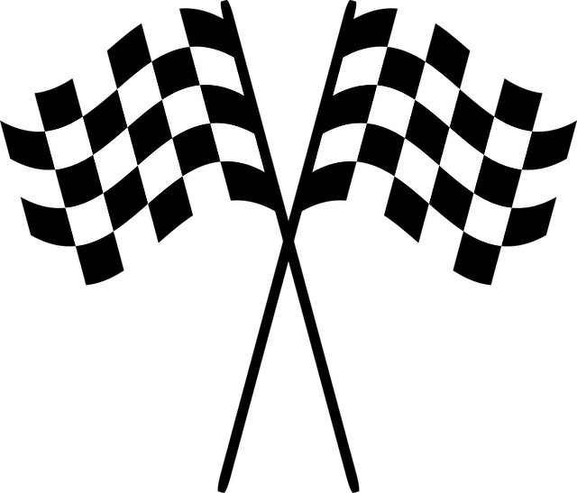checkered flags race  u00b7 free vector graphic on pixabay
