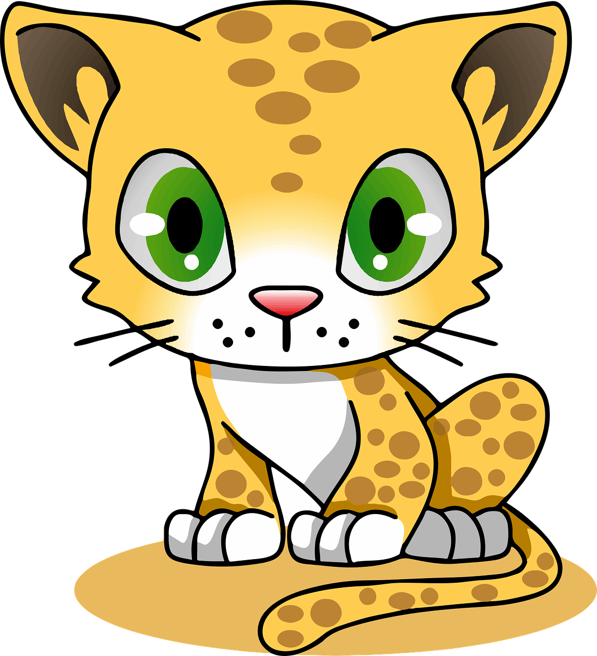Cached Pictures of cartoon leopards