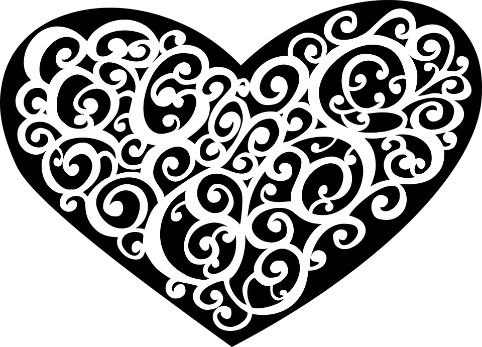 Free vector graphic: Abstract, Art, Black, Decorative ...