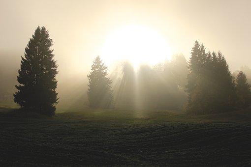 Divine Light, Light, Clouds, Sunlight