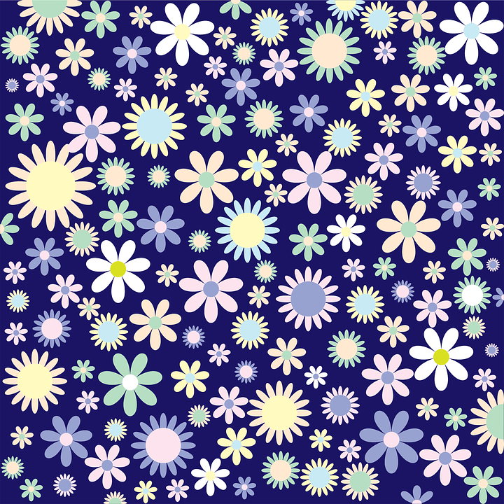 colorful floral background patterns - photo #22