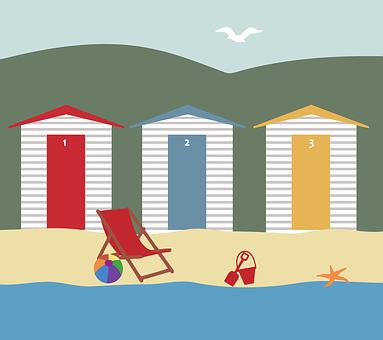 Beach Holiday Landscape Scene Vacatio