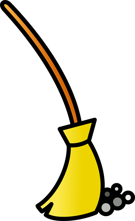 free vector graphic broom clean icon sweep free
