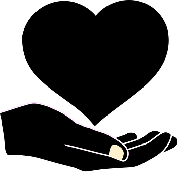Children, Elderly, Families, Hand, Heart