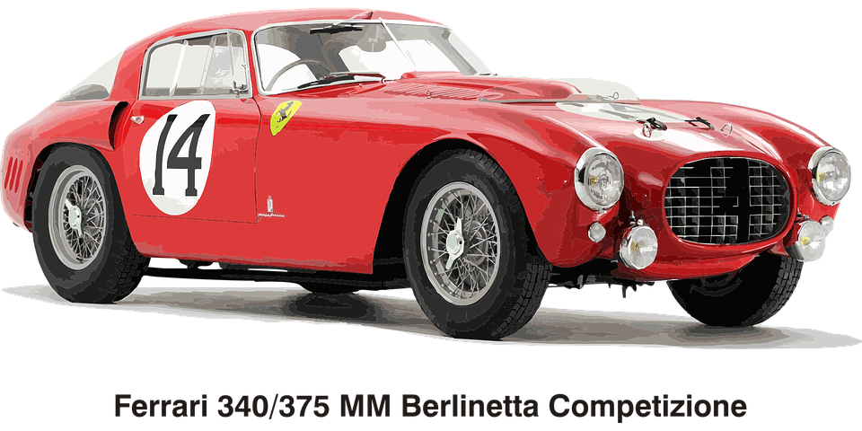 Cars Ferrari · Free vector graphic on Pixabay