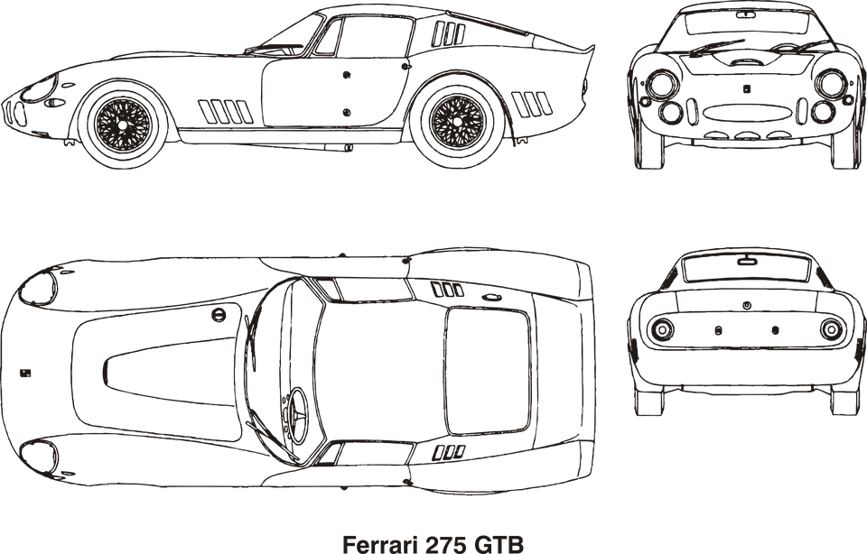 free vector graphic  ferrari  car  old  vintage - free image on pixabay