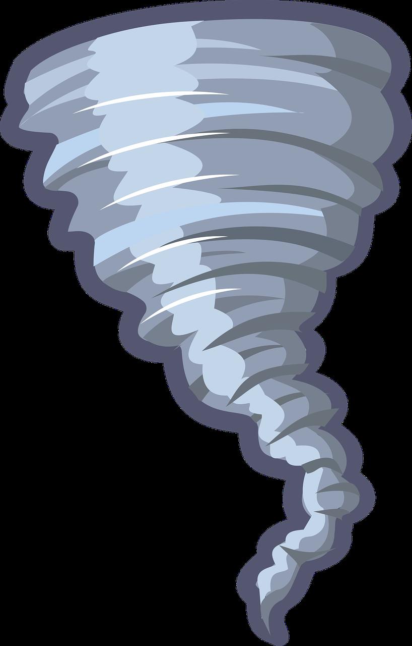 Cartoon Tornado Weather Free Vector Graphic On Pixabay
