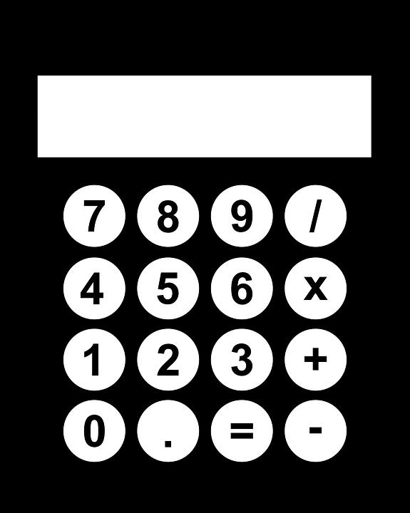 black calculator computer free vector graphic on pixabay